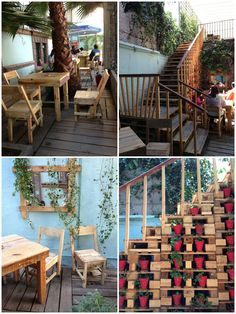 The Fusion project is a place in Mexico that presents all local, original and new trends in mexican fashion. The place is conceived to be a mix with restaurants, shops, etc. We really love the way they used pallet for…