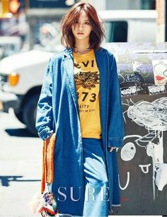 Girl's Day's Hyeri turned into a stylish New Yorker for her recent photoshoot with 'Sure'!After the end of her drama 'Ddanddara', the idol actress fle… Girl's Day Hyeri, Lee Hyeri, South Korean Girls, Korean Girl Groups, New York Socialites, Fashion Beauty, Womens Fashion, Fashion Trends, Daisy