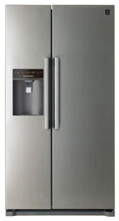 We would like the narrowest possible fridge with a water and ice dispenser Tall Cabinet Storage, Locker Storage, Building A Small House, Side By Side Refrigerator, Sconces, Door Handles, Wall Lights, Kitchen, Furniture