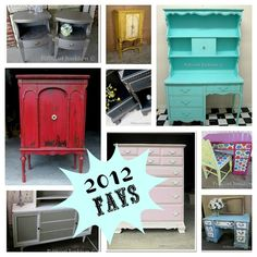 32 DIY Furniture Makeovers. Bring on the tag sale season, I'm ready to start new projects