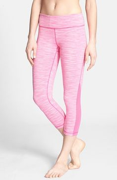 Free shipping and returns on Zella 'Live In - Streamline' Mesh Inset Capri Leggings at Nordstrom.com. A comfortably wide, non-binding waistband tops buttery-soft capris made from moisture-wicking, four-way stretch fabric for working out or kicking back.