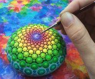 DIY Decorative Ocean stones