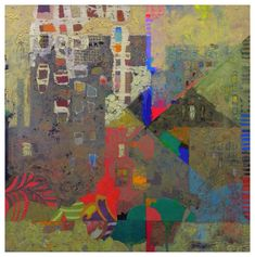 Mark English - Contemporary Artist - Abstract Town - 25