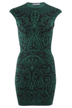 Alexander McQueen Dress - Jacquard Knit