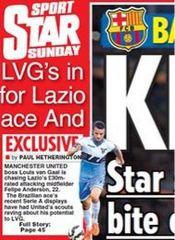 Goalpundit: louis Van Gaal linked with a £30m bid for Lazio's ...