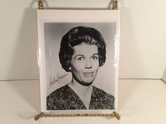 KATHLEEN FREEMAN Signed Vintage 8X10 AUTOGRAPHED Black & White Head Shot Photo in Collectibles, Autographs, Celebrities   eBay