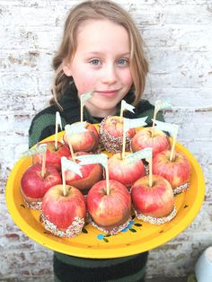 MaandagDaandag: Elvis trakteert Karamel-Choco-Appels