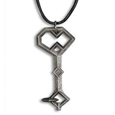The Hobbit: An Unexpected Journey Key to Erebor Replica Pendant with Leather Cord by Noble Add a bit of middle-earth to your fashion repertoire with this Key to Erebor inspired pendant. This pendant features a replica of the Key to Erebor from The Hobbit: An Unexpected Journey on a leather cord measuring approximately 20 inches.