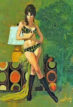 Robert McGinnis | - paperback cover inside! | By: x-ray delta one | Flickr - Photo Sharing!