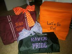 thirty-one collegiate spirit collection   Hokie Nation, Raven Pride
