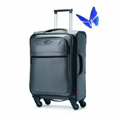 Samsonite Lift Spinner 25 Inch Expandable Wheeled Luggage, Charcoal, One Size Four multi-directional wheels allow 360 degree upright rolling so there is no weight on