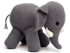 Слоник амигуруми
