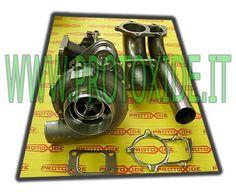 Turbocompressore Garrett GT30 su CUSCINETTI con wastegate int-esterna al prezzo di 1 760,67 € Euro.  Turbocompressore GT 30 su doppi cuscinetti Garrett con wastegate interna che scarica separatamente.