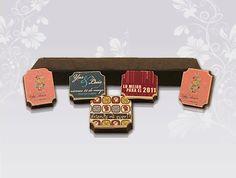 Chocolates personalizados (65 grs. c/u)