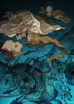 The Art Of Animation, Demizu Posuka - http://posuka.iinaa.net -...