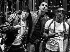 Em with Drake and Lil Wayne
