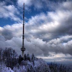 Uetliberg #zurichspots #zurich #switzerland #snow #swissspots #utokulm #uetliberg