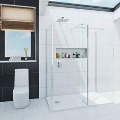 Luxury 8mm Walk in Shower Enclosure Pack 1400 x 900