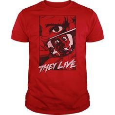 (Top Tshirt Seliing) They Live Graphic Poster [Tshirt Facebook] Hoodies, Funny Tee Shirts
