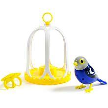 DigiBirds - Bird with Bird Cage - Twilight
