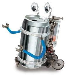 Cute and educatinal! - Tin Can Robot in Winter 2012 from Museum Tour on shop.CatalogSpree.com, my personal digital mall.