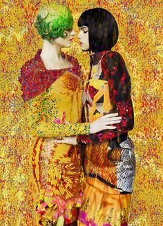 Erik Madigan Heck, the romantic conceptualist of fashion, for Mary Katrantzou