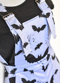 83b6febbbe6 Bat Pattern Overalls. Bat PatternCute FashionKawaii ...
