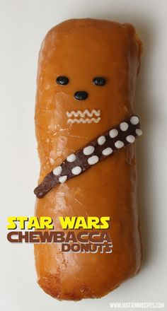 Star Wars Chewbacca Donuts for #NationalDonutDay
