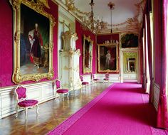 The Red Salon Schönbrunn Palace Vienna (Austria) Norfolk, Wonderful Places, Beautiful Places, Places Ive Been, Oh The Places You'll Go, Europe Centrale, Royal Life, Le Palais, Sissi