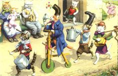 Silly Cat Parade