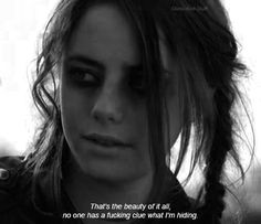 Untitled #Effy,  no one -  #difficult  beauty