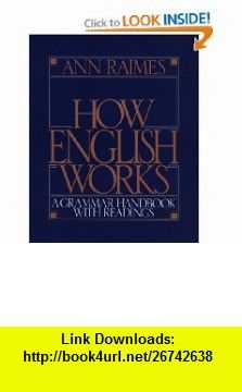 English grammar in use with answers and cd rom 9780521189392 how english works a grammar handbook with readings 9780521657587 ann raimes isbn fandeluxe Images