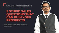 As salespeople, asking questions is a fundamental skill. Talking to prospect customers is not as important as asking them questions, because this is a great wa…