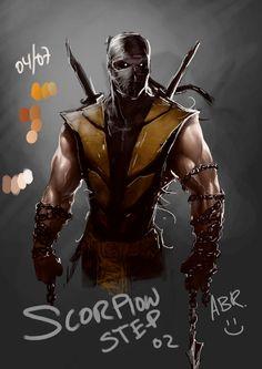 Wip_Scorpion_02 by abraaolucas.deviantart.com on @deviantART