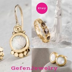 Fine jewelry Silver Gemstone jewelry 22k gold by GefenJewelry #handmade #handcrafted #etsy #love_yourself #christmas #girlpower #girlmeetsworld #fashion #fashionillustration #fashionbloggers #fashionistas #jewelry #accesorios #silver #gifts #anniversarygifts #anniversary #blue #brown #gold #goldjewellery #goodvibes #etsy #ethnic #boho #bohochic #bohostyle #ring #bride