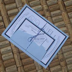 Gatsby Wedding Invitation vintage invitation by JenSimpsonDesign, $5.65