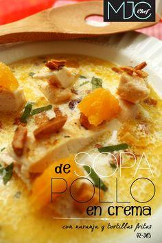 Chicken Soup! (#92)  #chicken #tortillas #cream #albahaca 