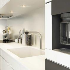 Sigdal kjøkken - Line Inframe Sink, New Homes, Home Decor, Modern, Pictures, Sink Tops, Vessel Sink, Decoration Home, Room Decor