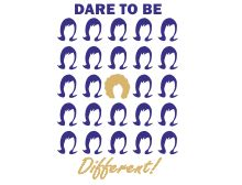Dare To Be Different Women's T-Shirts http://www.blackhairinformation.com/t-shirts/dare-to-be-different-womens-t-shirts/