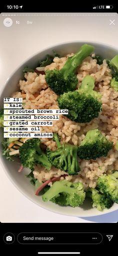 Healthy Eating Recipes, Healthy Meal Prep, Vegan Recipes Easy, Healthy Snacks, Vegetarian Recipes, Cooking Recipes, Food Combining, Brunch, Food Goals