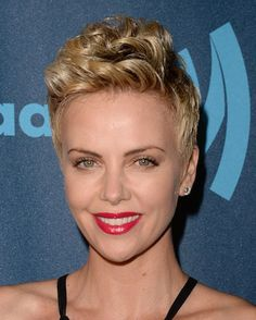 8 Celebs That Make Us Want to Cut Our Hair Short: Charlize Theron