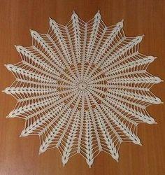 ergahandmade: Crochet Doily + Diagram                                                                                                                                                      Más