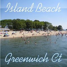 Island Beach - Beaches, picnic area, swimming and more in Greenwich CT Old Greenwich, Greenwich Connecticut, Beach Picnic, Picnic Area, Park Playground, Island Beach, Space Travel, Parks And Recreation, Beaches