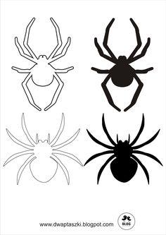 Dwa Ptaszki: Jak wykonać dekoracje na Halloween - girlanda z nietoperzy i pająków