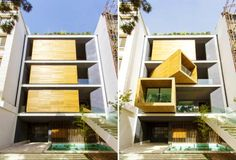 Space-Saving Sharifi House Boasts Mobile Rooms That Rotate With the Push of a Button | Inhabitat - Sustainable Design Innovation, Eco Archit...