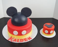 ... Mickey Mouse Cake And Smash Cake ...