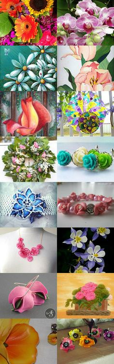 For The Flower Loving Mom by Mil Val and Pam Three Sisters on Etsy--Pinned with TreasuryPin.com  https://www.etsy.com/treasury/MTg4NDc2NTJ8MjcyMzQyNjk3OQ/for-the-flower-loving-mom