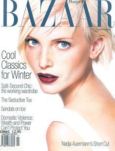 Bazaar November 1994 - Nadja Auermann