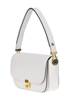 a5b079664bd8 Valentino Women's Mcglbre04022i White Leather Shoulder Bag: Amazon.co.uk:  Shoes & Bags