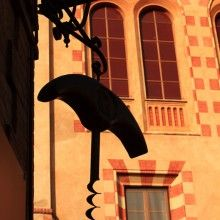 Corkscrew Museum in Barolo, Piedmont, Italy